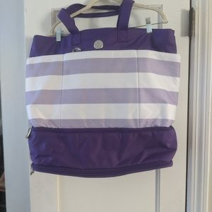 Beach bag with cooler